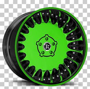 Alloy Wheel Spoke Hubcap Rim Tire PNG
