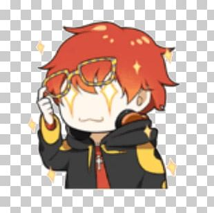 Mystic Messenger Sticker Video Game Emoticon PNG
