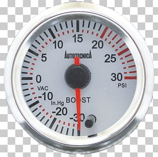 Boost Gauge Car Tachometer Pressure Measurement PNG