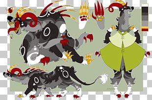Carnivora Legendary Creature Animated Cartoon Font PNG