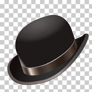 Hat Gentleman Computer File PNG