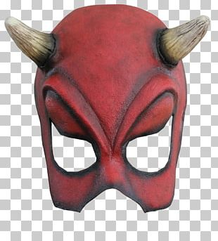 Mask Devil Ghost Halloween PNG