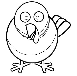 Turkey Meat Coloring Book Thanksgiving Paper PNG