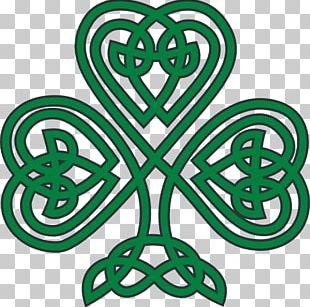 Shamrock Celts Celtic Knot Clover PNG