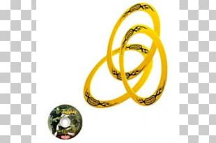 Yellow Juggling Ring Bangle Duncan Toys Company CD-ROM PNG
