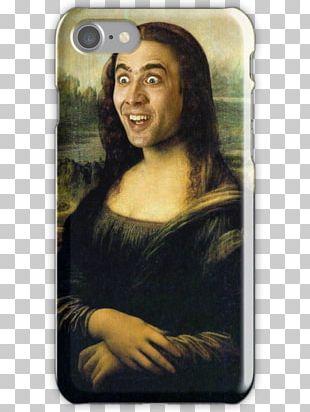 Nicolas Cage Mona Lisa Face/Off Ridiculous Musée Du Louvre PNG