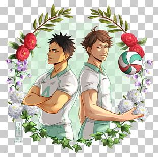 Floral Design Flower Wreath Crown Haikyu!! PNG