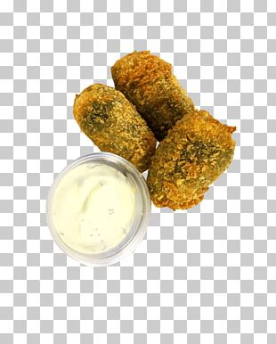Chicken Nugget Falafel Croquette Sauce French Fries PNG