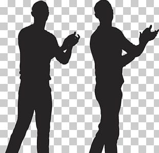 Clapping Silhouette Applause Illustration PNG