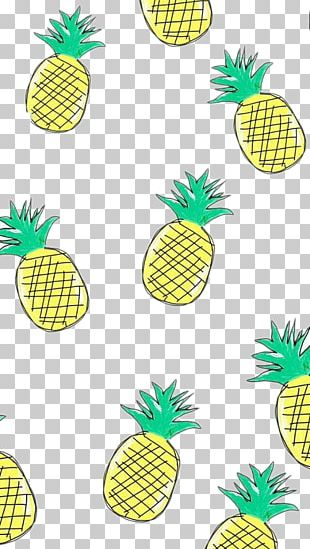 Pizza Pineapple Lock Screen PNG