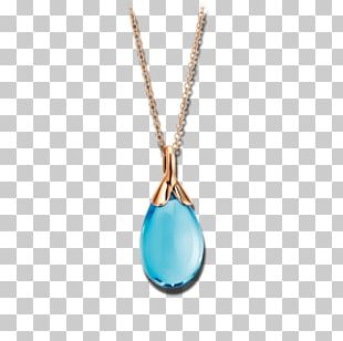 Turquoise Necklace Charms & Pendants Jewellery Gold PNG