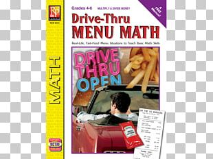 Fast Food Drive-through Subtraction Mathematics Basic Math PNG