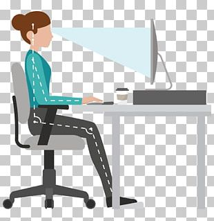 Office & Desk Chairs Human Factors And Ergonomics Sitting Workstation PNG