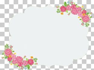 Symmetry Flower Wall Pattern PNG