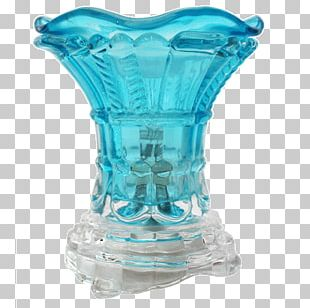 Vase Censer Green Glass PNG