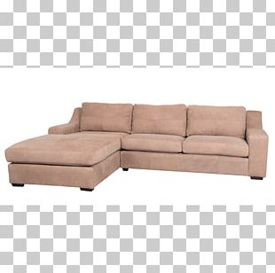 Couch Chaise Longue Sofa Bed Leather Slipcover PNG
