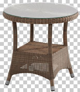 Garden Furniture Table Bistro Chair Resin Wicker PNG