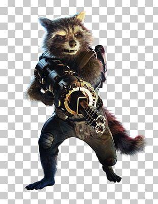 Rocket Raccoon Gamora Groot Star-Lord Nebula PNG