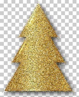 Christmas Ornament Christmas Tree Gold PNG