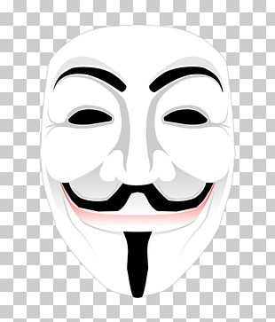 Guy Fawkes Mask Anonymous PNG