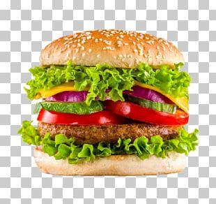 Hamburger Take-out Chicken Sandwich Veggie Burger Fried Chicken PNG