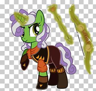 Horse Animated Cartoon Figurine Legendary Creature PNG