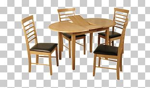 Table Dining Room Chair Matbord Solid Wood PNG