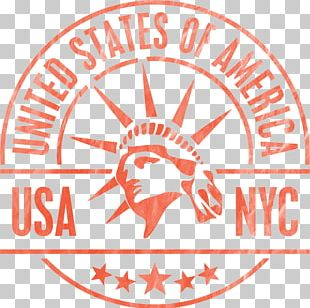 Statue Of Liberty Eiffel Tower New York Bagel Cafe Sticker PNG