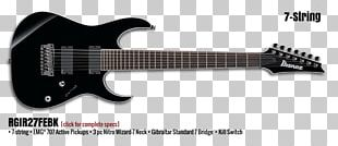 Ibanez GRG7221 7-String Electric Guitar Ibanez GRG7221 7-String Electric Guitar Seven-string Guitar PNG