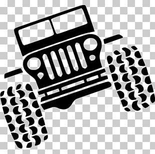 Jeep Wrangler Rubicon Car Silhouette PNG