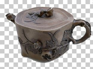 Teapot Ceramic Pottery Lid Cup PNG