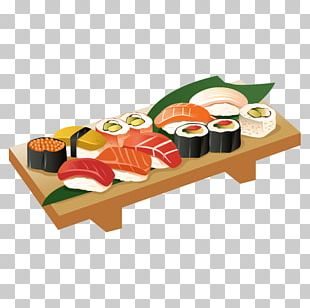 Japanese Cuisine Sushi PNG
