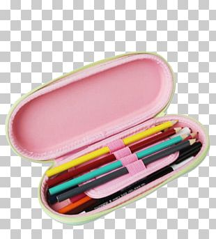 Stationery Pencil Case Colored Pencil PNG
