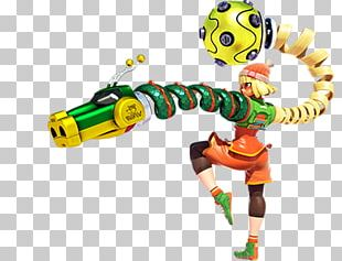 Arms Nintendo Switch Brawlout Video Game PNG