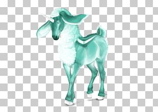 Goat Character Fiction Figurine PNG