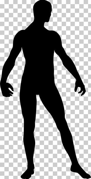 Silhouette Man PNG
