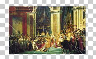 Musée Du Louvre The Coronation Of Napoleon Coronation Of Napoleon I Painting Museum PNG