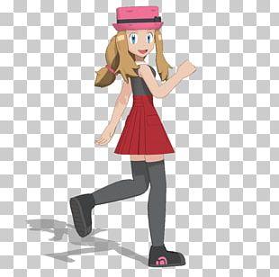 Pokémon GO Serena Ash Ketchum MikuMikuDance PNG