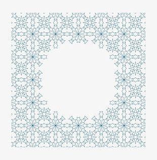 Blue Circle Mesh PNG
