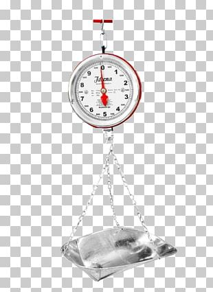 Measuring Scales Clock PNG