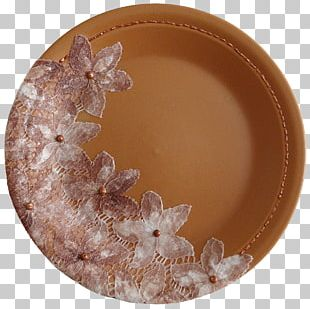 Plate Glass Platter Lace Ceramic PNG
