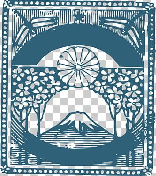 Thirty-six Views Of Mount Fuji Computer Icons Cherry Blossom PNG