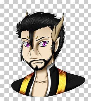 Illustration Legendary Creature Human Hair Color Ear PNG