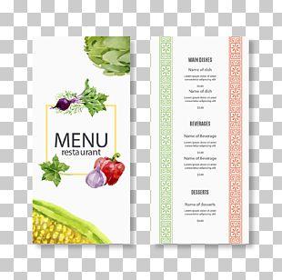 Menu Restaurant Euclidean Food PNG