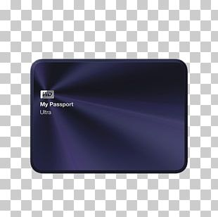 Hard Disk Drive Western Digital USB 3.0 My Passport PNG