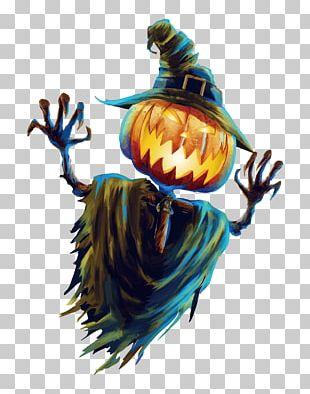 Halloween Scarecrow Jack-o-lantern Festival PNG