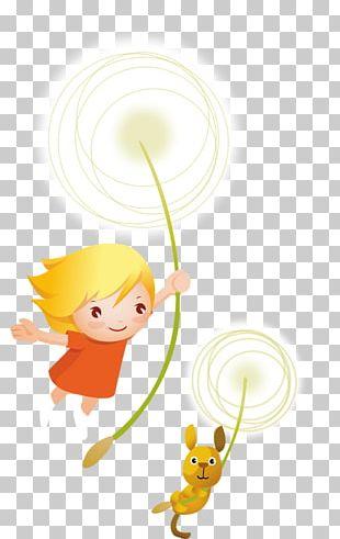 Cartoon Child Illustration PNG