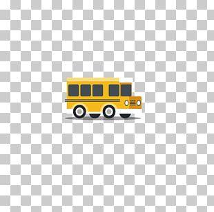 School Bus Bus Stop PNG