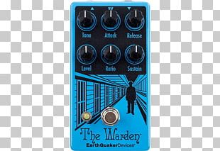 Effects Processors & Pedals EarthQuaker Devices The Warden Electric Guitar Dynamic Range Compression PNG