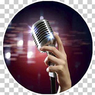 Microphone Karaoke Music Disc Jockey Entertainment PNG